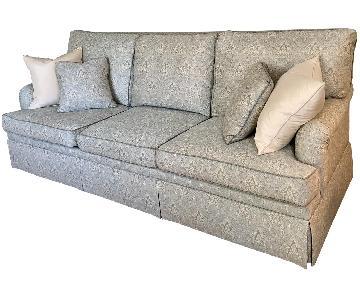 Ethan Allen English Roll Arm Sofa