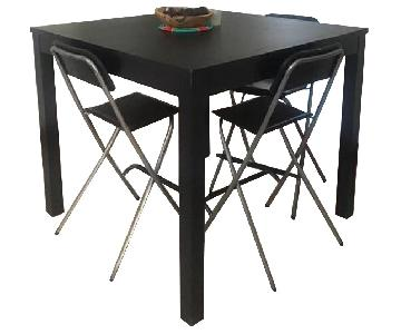 Ikea Bar Table w/ 3 Stools