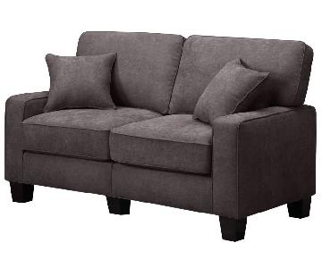 Serta Palisades Sofa in Riverfront Brown