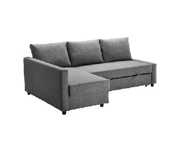 Ikea Friheten 3-Seat Sleeper Sectional Sofa w/ Storage