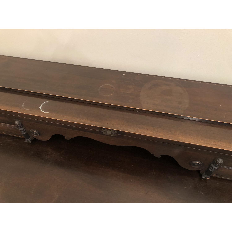 Antique Desk/Entryway Table-5