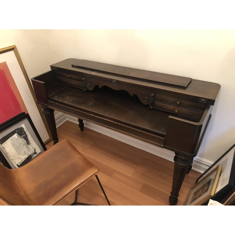Antique Desk/Entryway Table-6