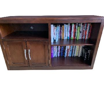 Bob's Dark Wood Entertainment Console