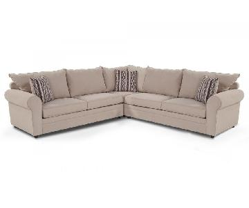 Bob's Venus 3 Piece Sectional Sofa