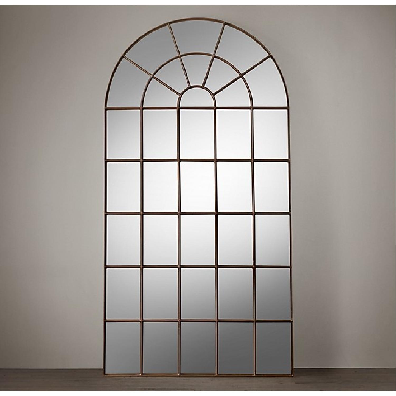 Restoration Hardware Palladian Leaner Mirror - image-1