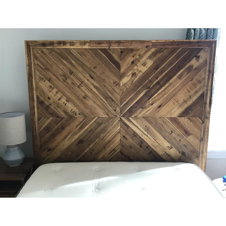West Elm Alexa Reclaimed Wood Bed-1