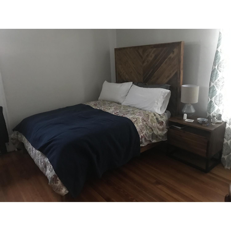 West Elm Alexa Reclaimed Wood Bed-2