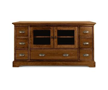 Restoration Hardware Marston Console in Light Cherry