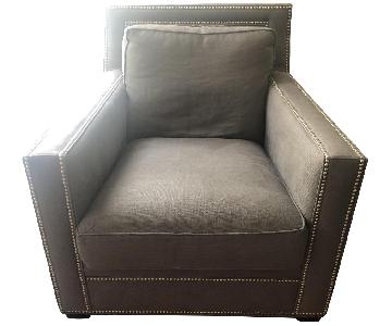 Lillian August Armchair in Grey