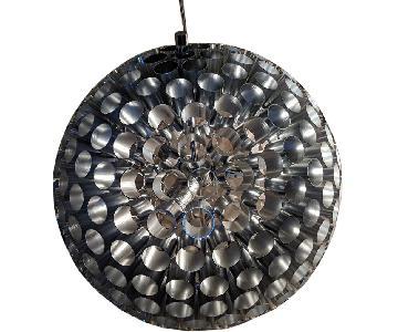 Modern Silver Grey Cieling Lamp