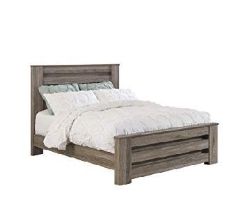 Ashley Zelen Queen Bed
