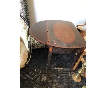 Mahogany Side Tables
