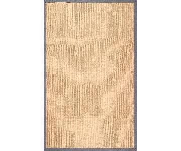 nuLOOM Alexa Handmade Jute Rug w/ Grey Cotton Border