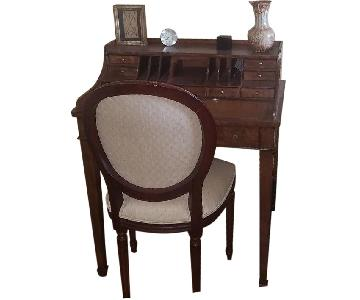 Ethan Allen Nook Writing Table & Chair