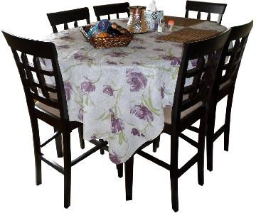 Oval Dining Table w/ 6 Chairs