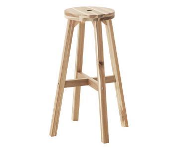 Ikea Wood Bar Stools
