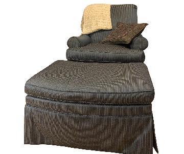 Hicory Chair Lounge Chair w/ Ottoman