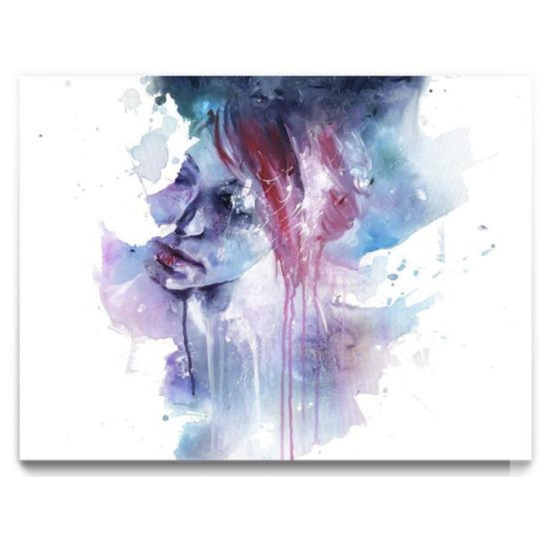 Framed Watercolor Print - Memory - image-0