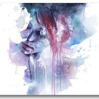 Framed Watercolor Print - Memory