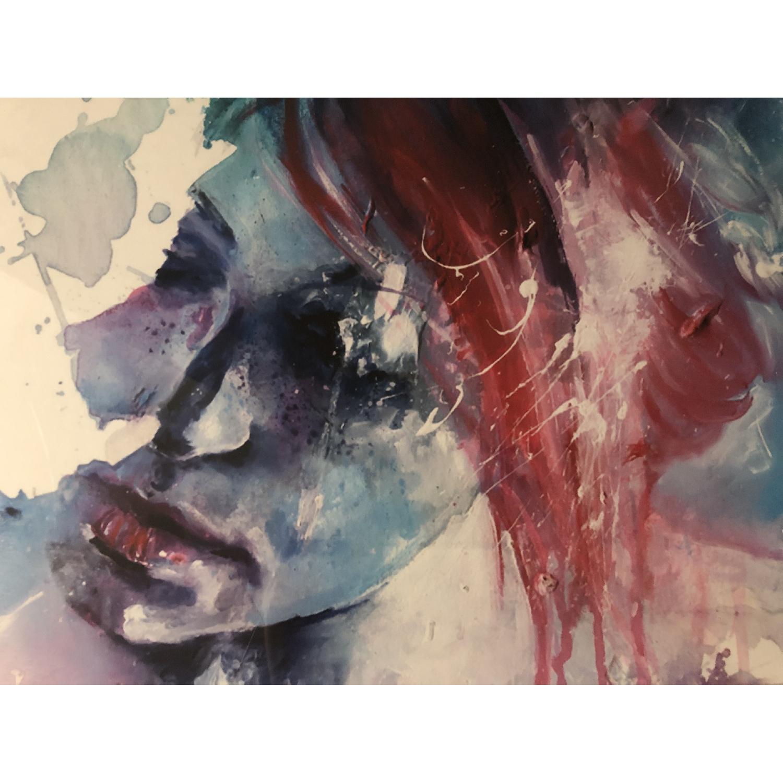 Framed Watercolor Print - Memory - image-2