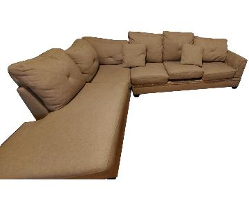 Alcott Hill Chapin Reversible Sectional Sofa