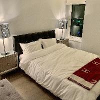 Italian Style Leather Bedroom Set