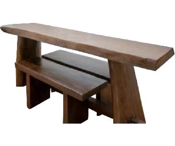 From The Source Mango Wood Dining Table