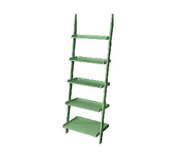 Convenience Concepts French Country Green Ladder Bookshelf