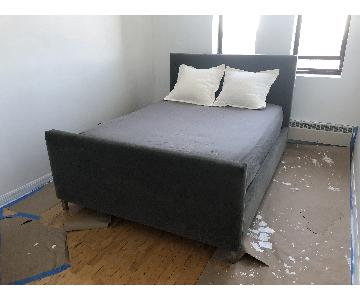 ABC Carpet & Home Upholstered Queen Bed