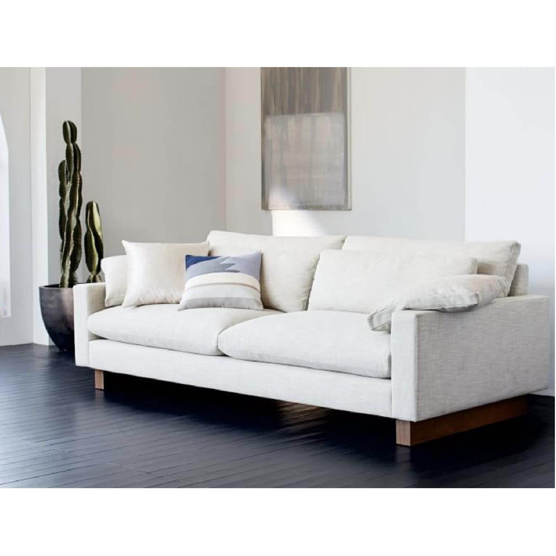 Terrific West Elm Harmony Sofa Aptdeco Ncnpc Chair Design For Home Ncnpcorg