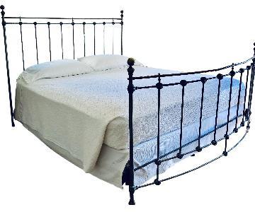 Domain Soho Iron & Brass King Bed