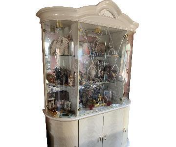 Wood & Glass China Cabinet