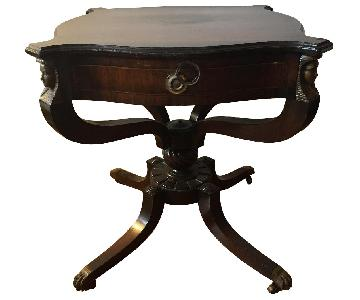 Vintage Empire-Style Side Tables