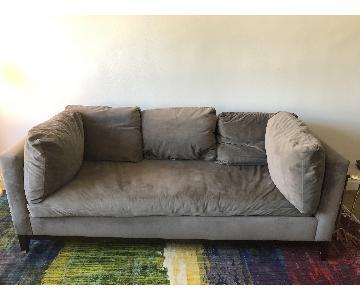 West Elm Blake Velvet Sofa