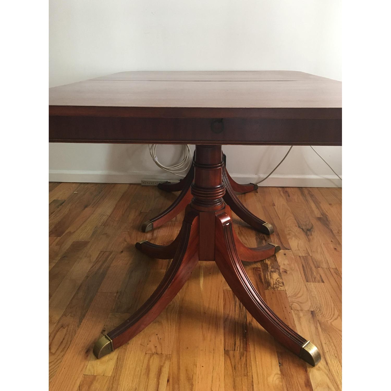 Vintage Hardwood Dining Table-2