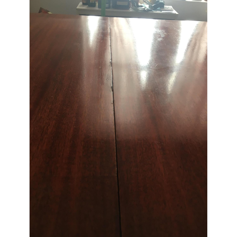 Vintage Hardwood Dining Table-3