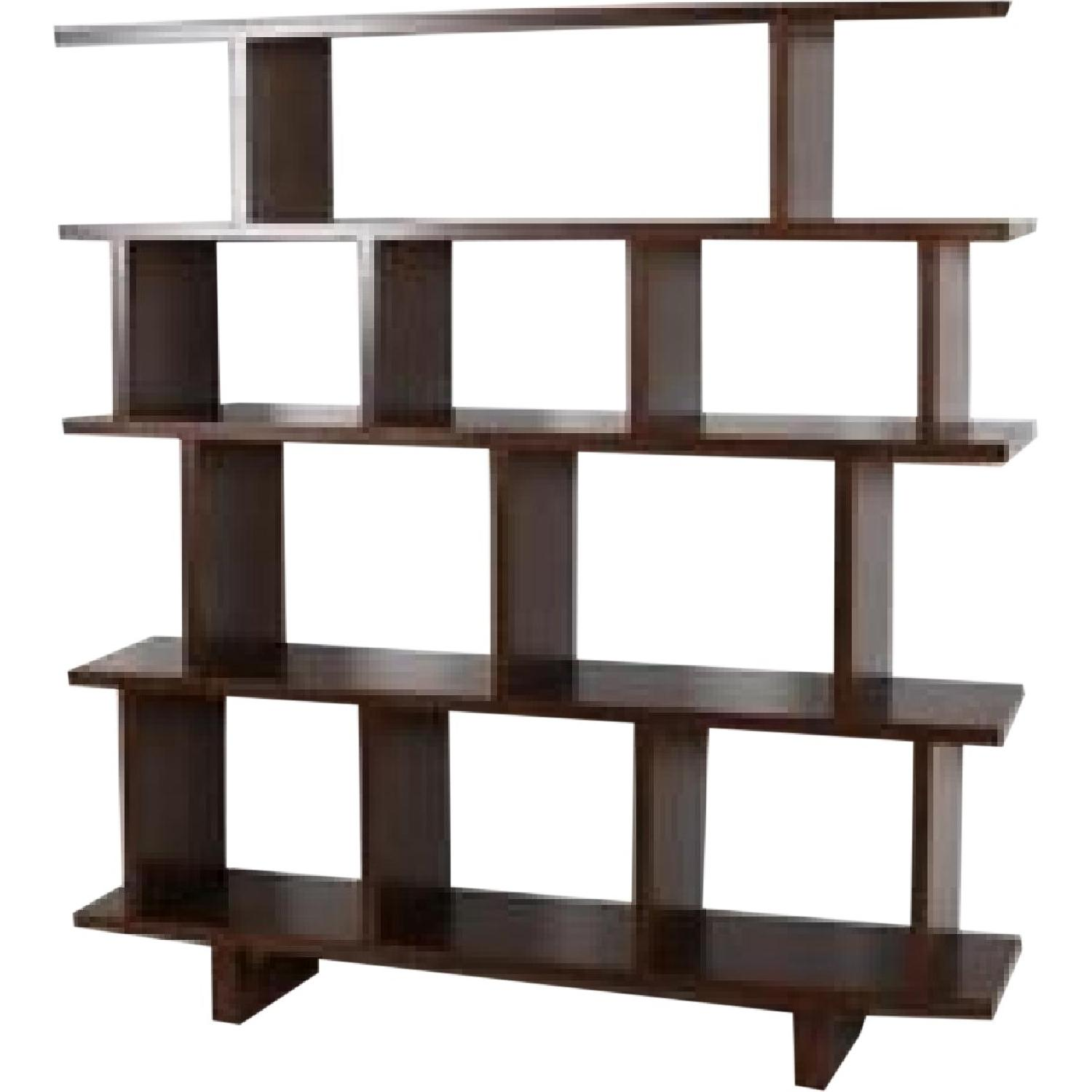 Room & Board Kiva Shelving Unit in Espresso