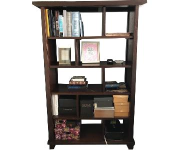 Crate & Barrel Cube Divider Bookshelf