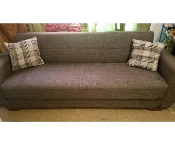 Alex's Furniture Store Convertible 3 Seater Sofa w/ Storage