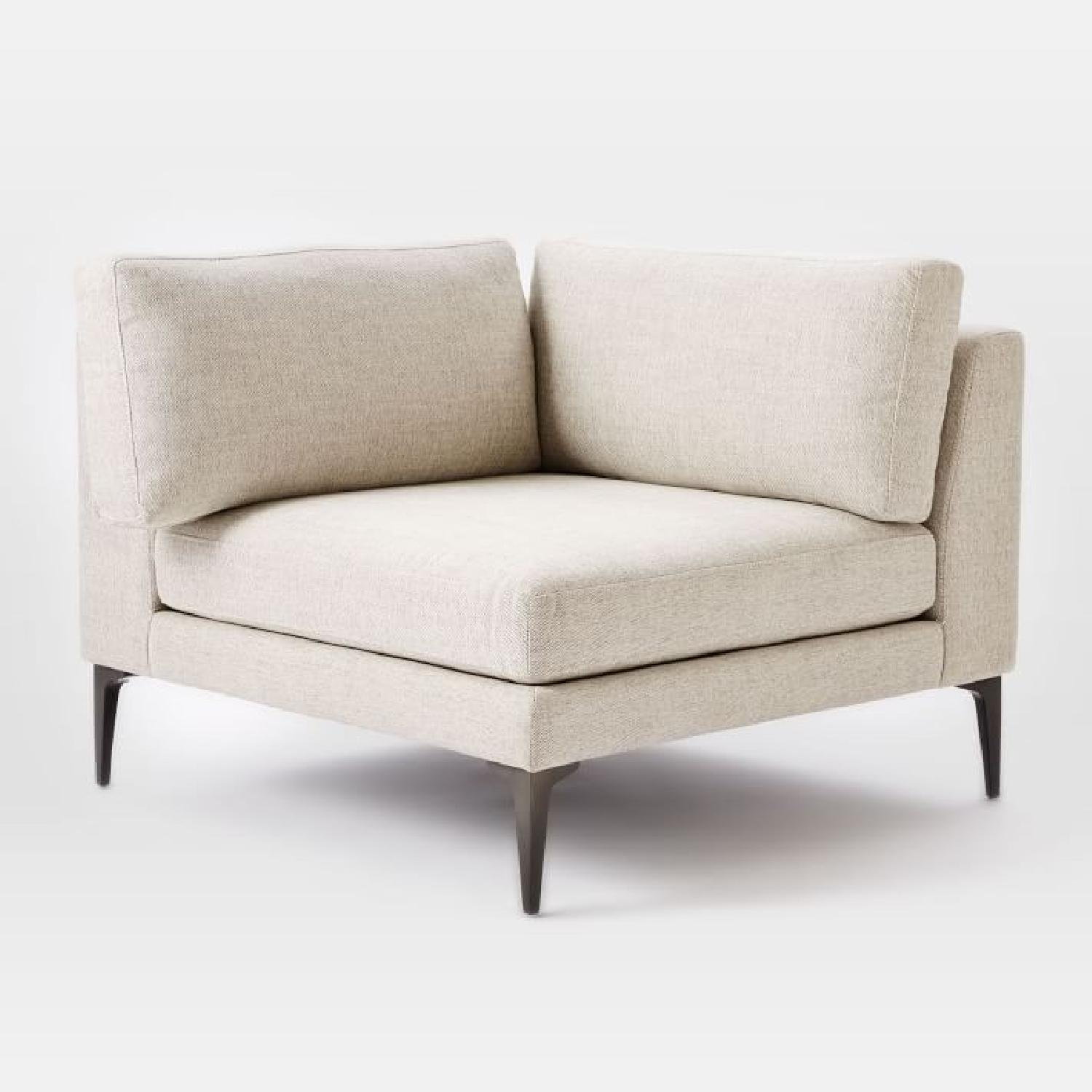 West Elm Andes Corner Chair