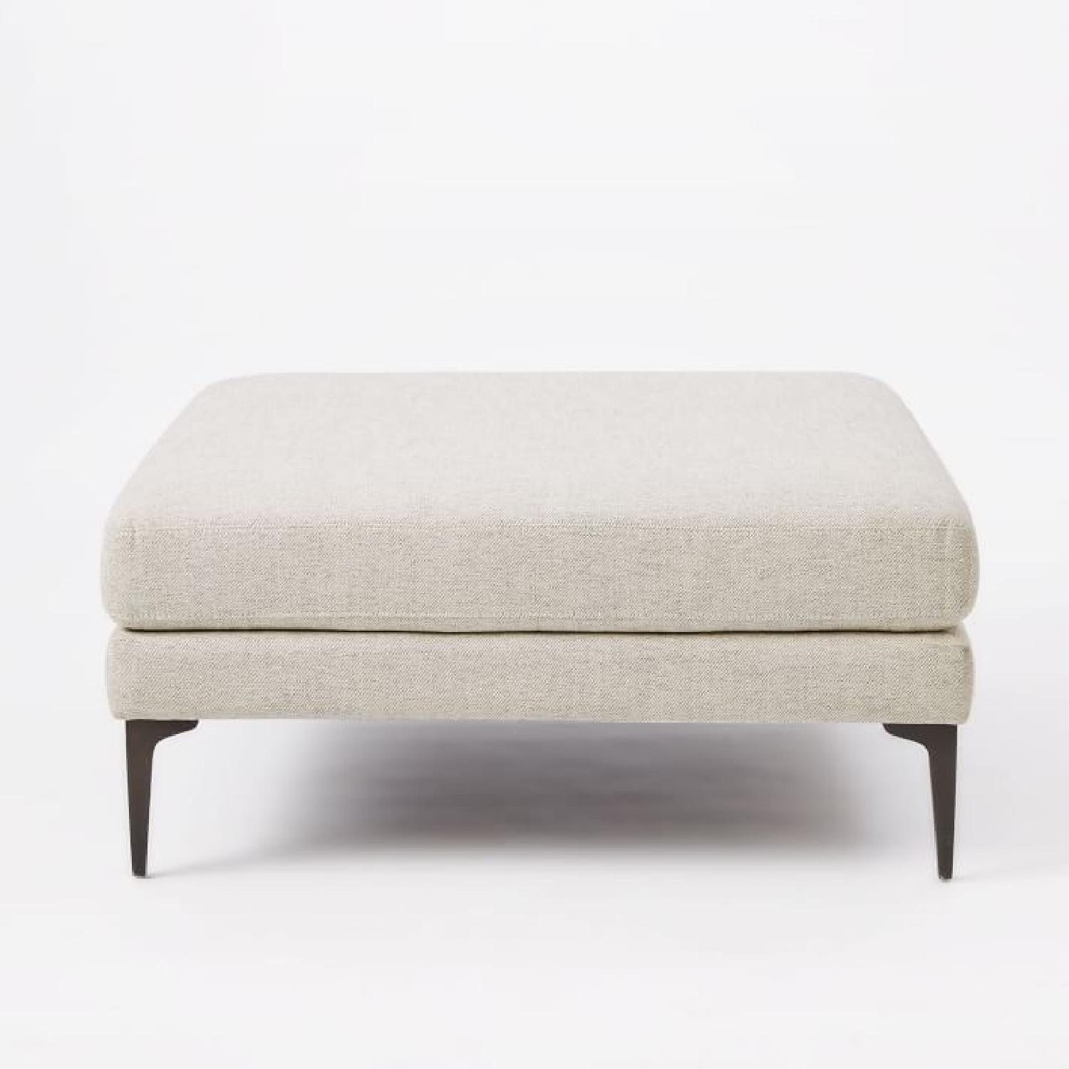 West Elm Andes Ottoman