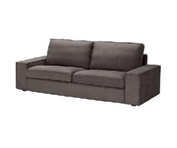Ikea Kivik Grey Sofa