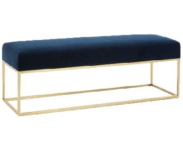 West Elm Box Frame Bench