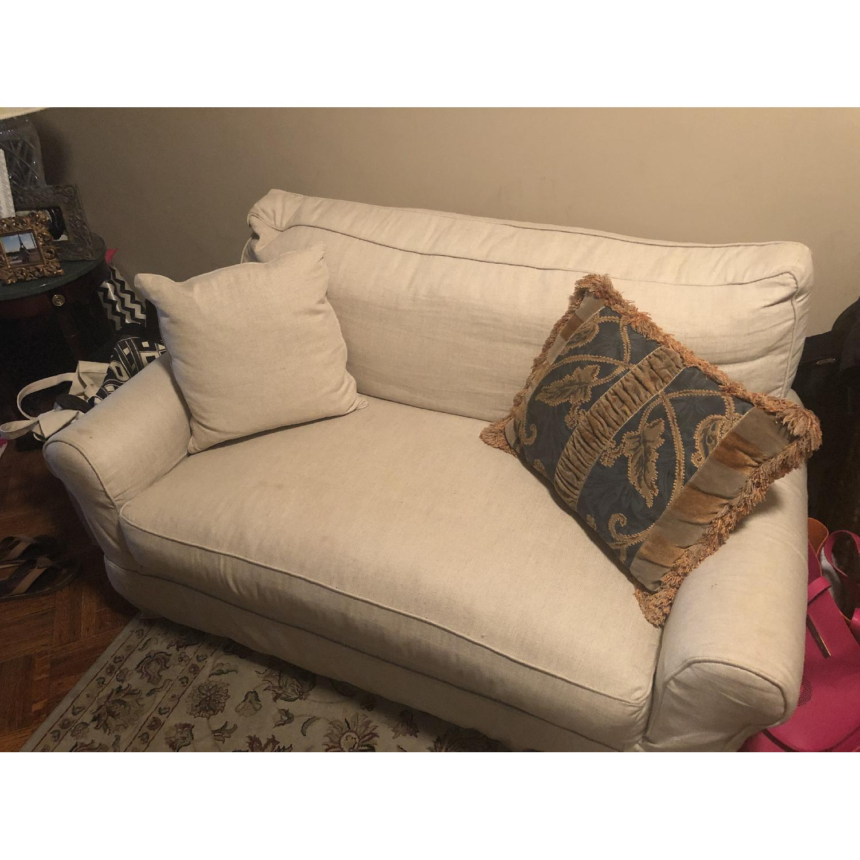 Pottery Barn Twin Sleeper Sofa - image-2
