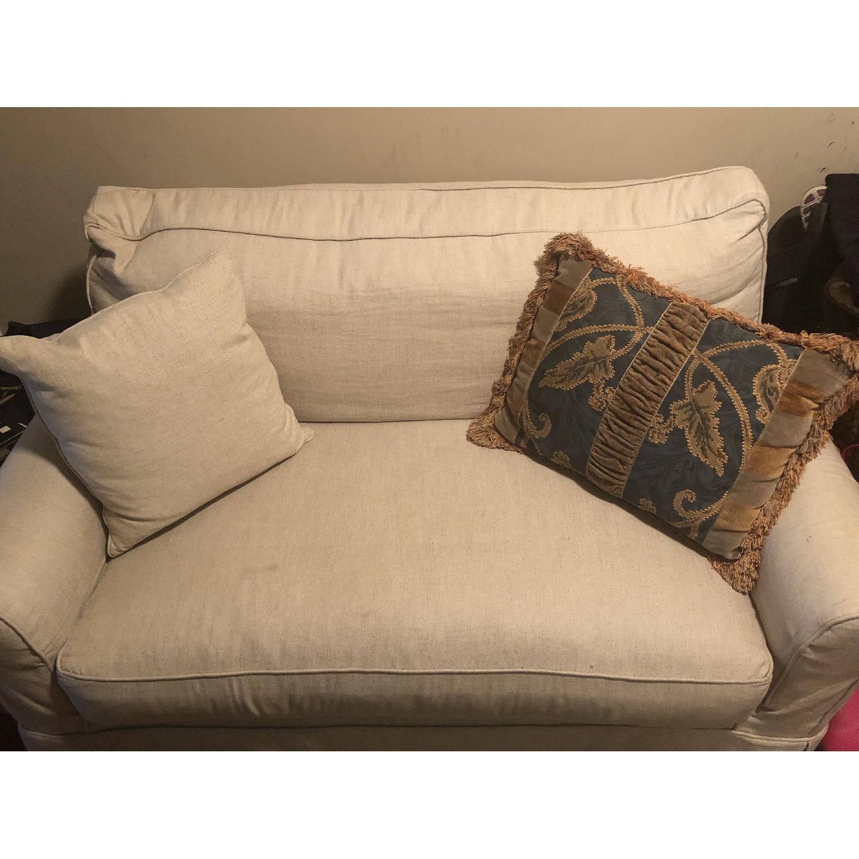 Pottery Barn Twin Sleeper Sofa - image-3