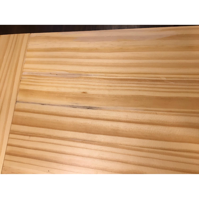 HomCom 45 Wooden Utility Kitchen Cart - image-3