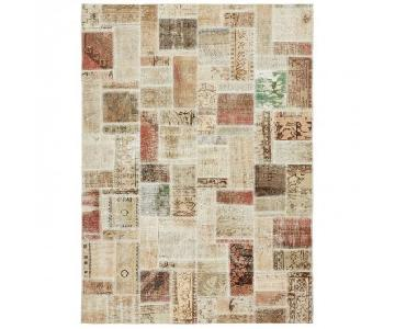 ABC Carpet and Home Color Reform Patchwork Overdyed Rug