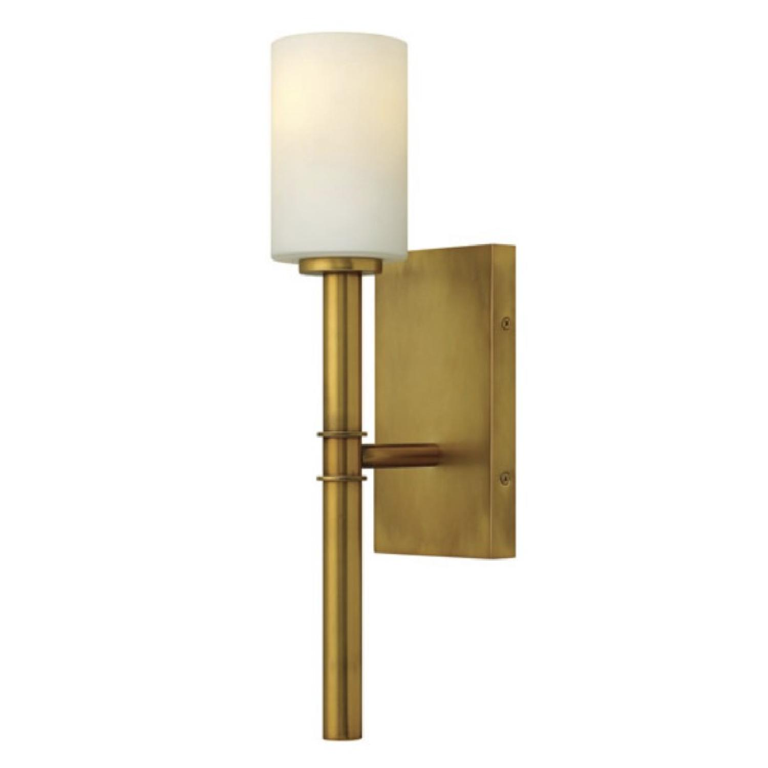 Hinkley Gold Wall Sconce