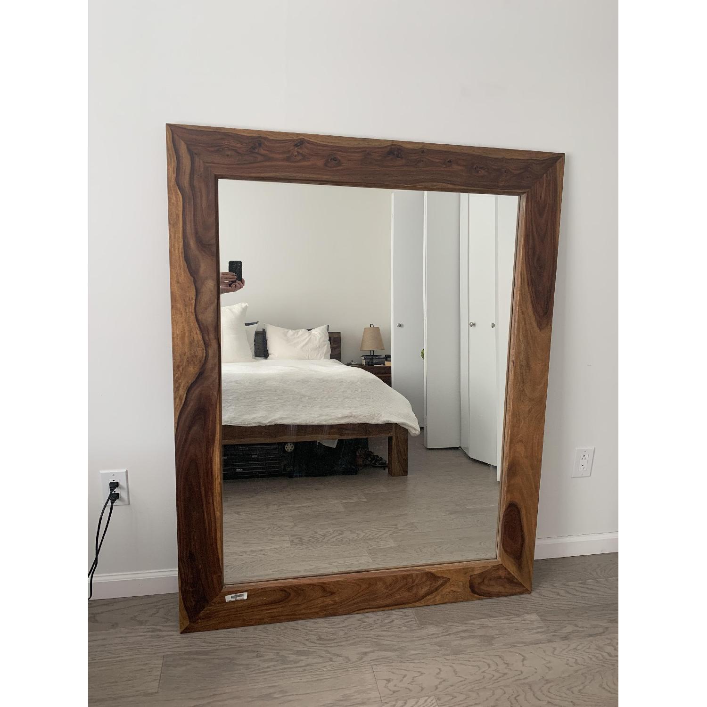 Exotik Mobilier Rosewood Mirror - image-1