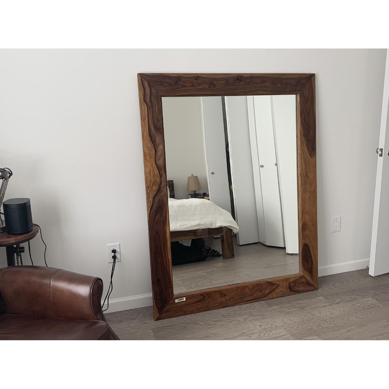 Exotik Mobilier Rosewood Mirror - image-2
